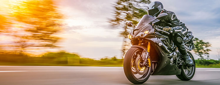 Texas Motorcycle with motorcycle insurance coverage